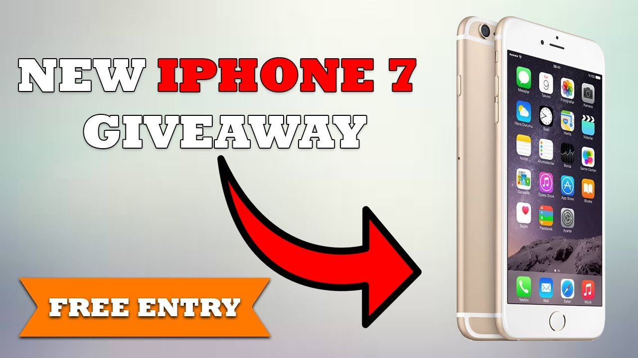 Win A Free Iphone 7 Plus