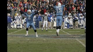 Top 10 Game Winning Plays in Tennessee Titans History