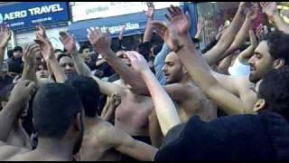 Shabbir Ko Sajde Mein Ziba Kisne Kiya Hai - Qureshi Party - 10 Muharam 1431 Hussainia Jaloos - Bradford 2009