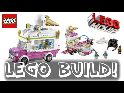The LEGO Movie Ice Cream Machine 70804 | Time-lapse Build / Unboxing & Review!