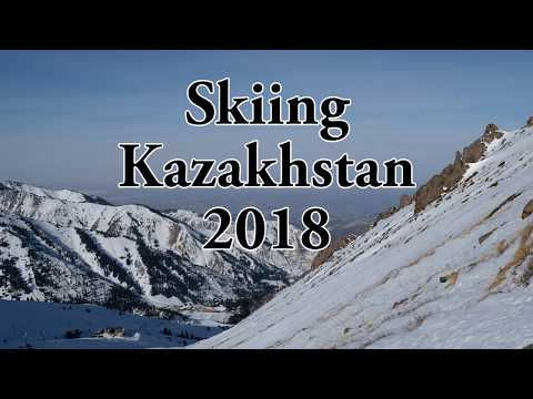Skiing in Almaty, Kazakhstan 2018 Лыжи в Казахстане