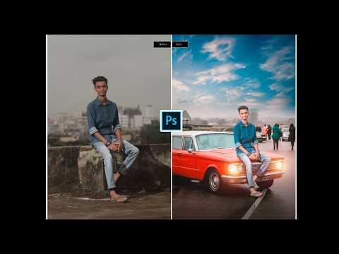 Photoshop Car Manipulation Effect By Sr Photoshop Tutorial | Edit like Vijay maher | Vm Design|
