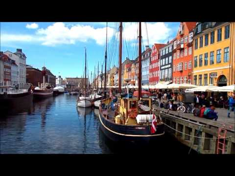 Nyhavn waterfront in Copenhagen