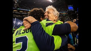 """Pete Carroll """"just couldn't be more excited"""" over 10-2 Seahawks. """"Now, it's finish time"""""""