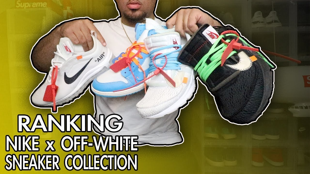 8be7f67c59701 ENTIRE NIKE X OFF WHITE SNEAKER COLLECTION RANKED WORST TO BEST ...