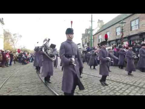 christmas at beamish opening parade 2017