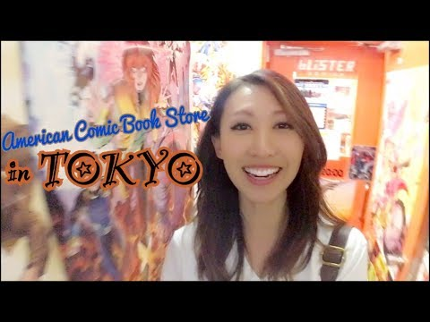 Kasual Kali - American Comic Book Store in Tokyo