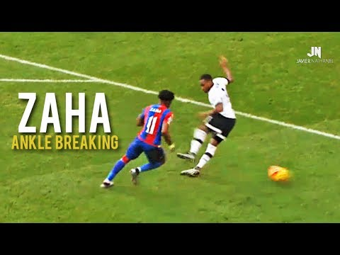 Wilfried Zaha - Ankle Breaking Skills and Tricks