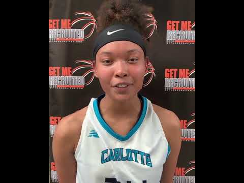 Aliciah Fields (Charlotte Flames/NW Cabarrus HS/Concord, NC) 2021 6'2 F