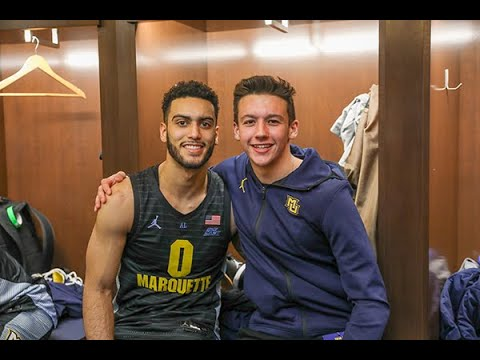 Dave Michaels - Marquette's Markus Howard met Nick Herrmann thanks to Make-A-Wish!