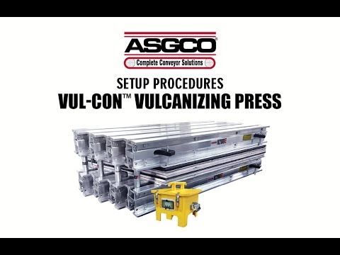 Vul-Con™ Sectional Vulcanizing Press - ASGCO Conveyor Solutions