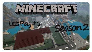 MINECRAFT PS4 «» Moderne Stadt «» Season 2  #1  | Der Stand der Dinge | German HD