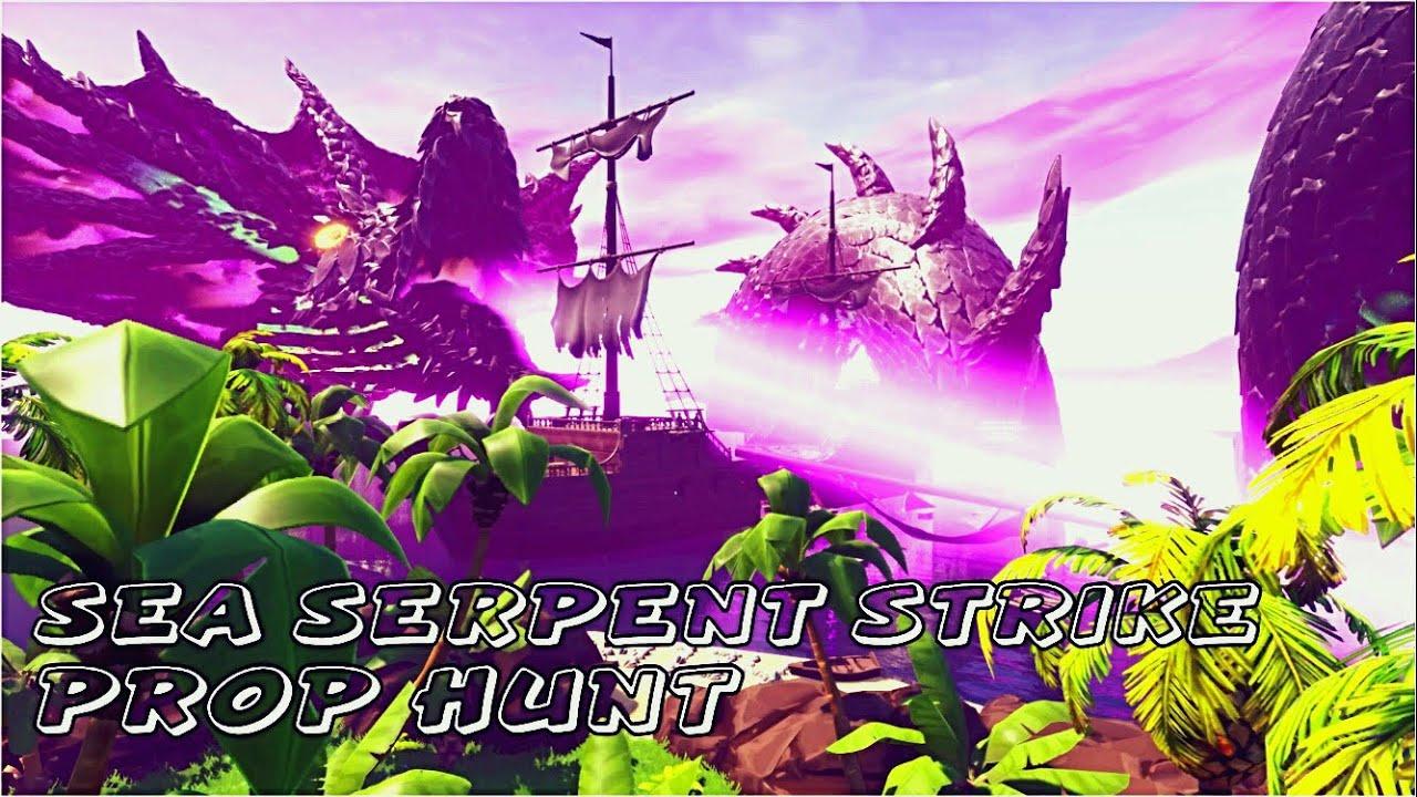 Sea Serpent Strike | Prop Hunt Map w/ Code (Fortnite Battle Royale)