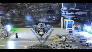 Lego Starwars.speed Build 75055  - Episode Ii - Dark Vador, Imperial Star Destroyer En Stop Motion