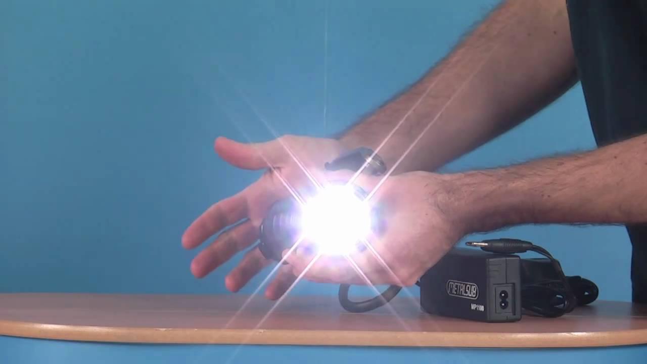 Metalsub XL7 2 LED Torch