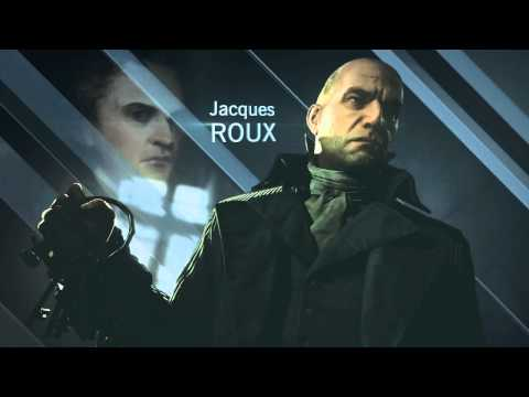 ELIAS TOUFEXIS as ROUX in AC:UNITY Full Performance Capture