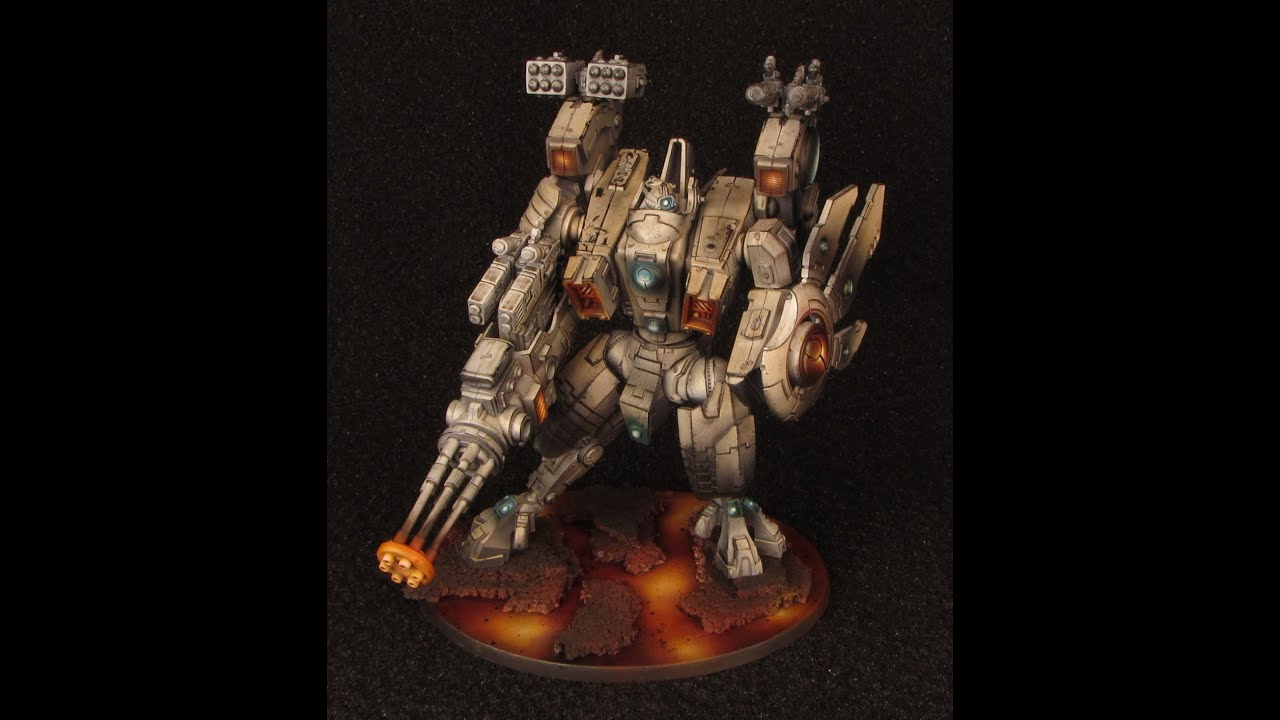 How to paint Riptide Battlesuit - Tutorial by Medows