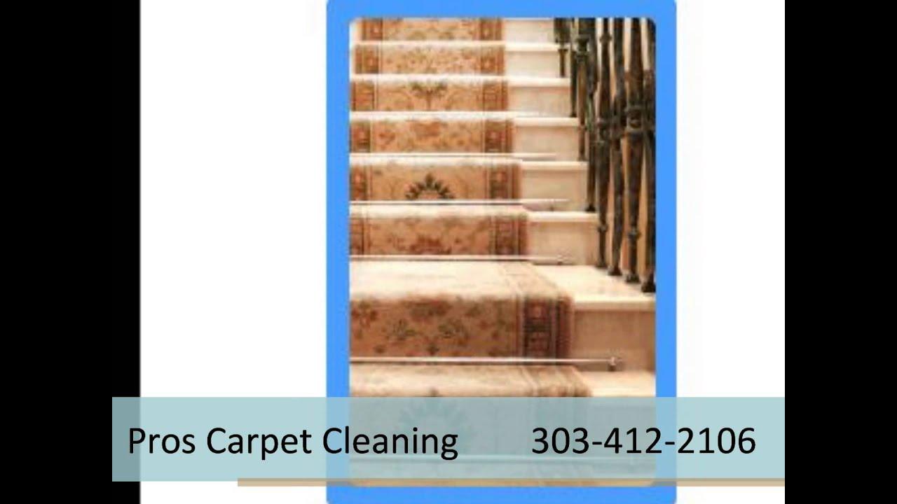 pros residential carpet cleaning denver youtube