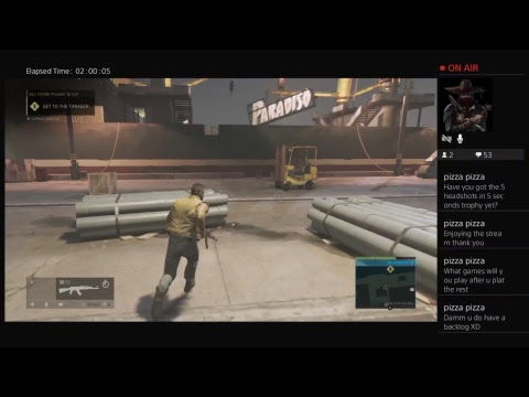 Chaosvash live gameplay MAFIA 3