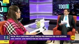 Todo Se Sabe │Entrevista al juez Abel Concha por Caso Ecoteva