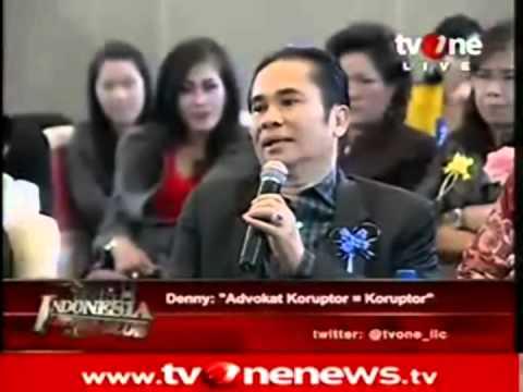 Ilc  Indra Sahnun Lubis Denny Indrayana Advokat Koruptor Koruptor