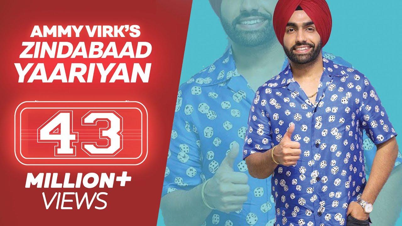 Ammy Virk - ZINDABAAD YAARIAN (Full Song) - Latest Punjabi Song 2019 -  Lokdhun