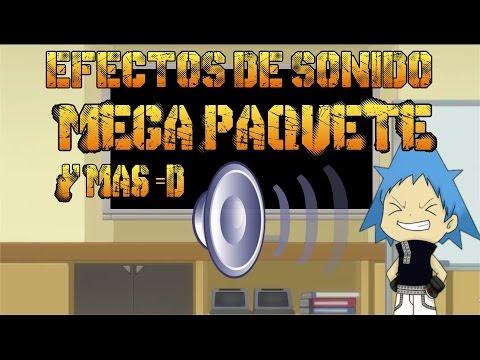 EFECTOS DE SONIDO PARA TUS VÍDEOS =D + info del ca - YouTube