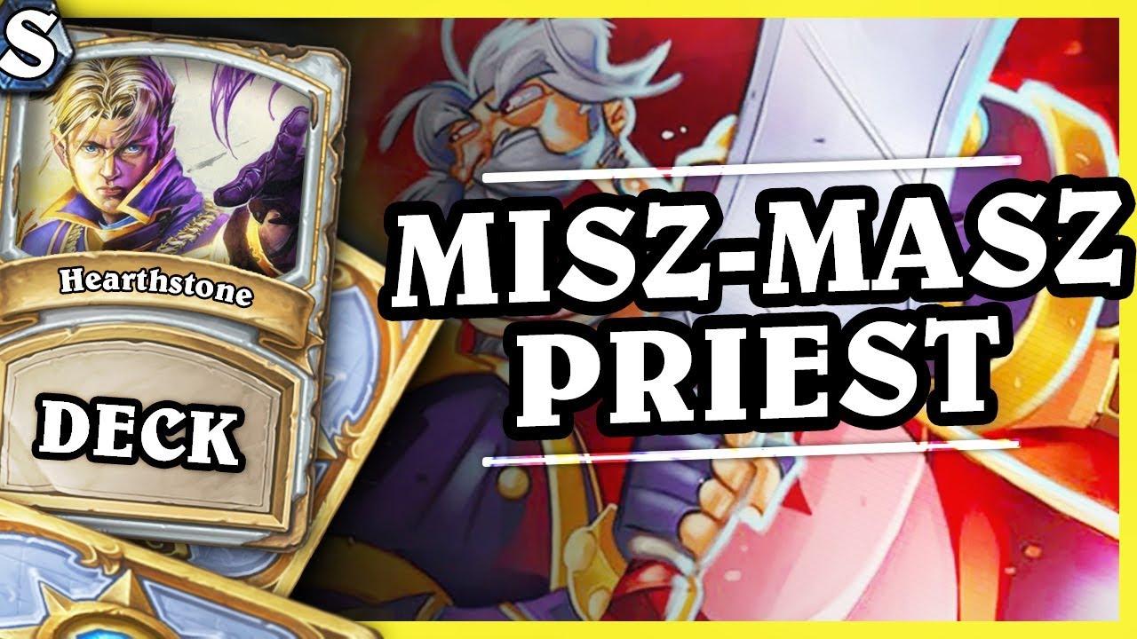 MISZ-MASZ PRIEST – Hearthstone Deck Std (KotFT)