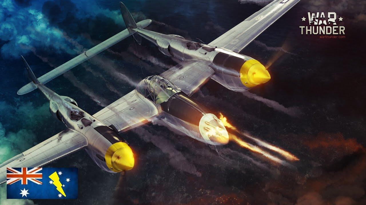 P 38 Lightning Games