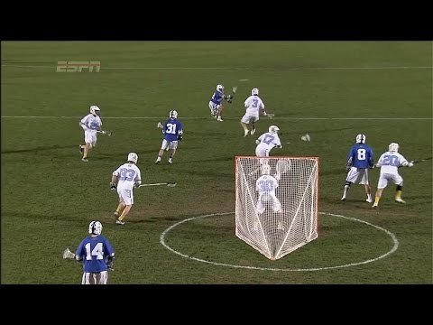Duke 1-3-2 Shallow Cut Midfield Dodging Offense