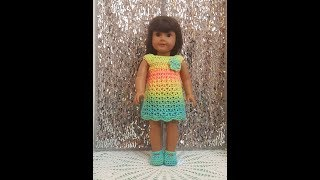AG - Einfach Häkeln American Girl Kleid Tutorial