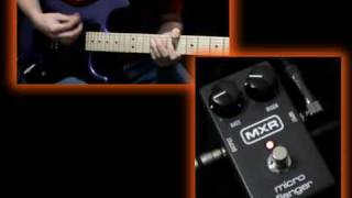 MXR Micro Flanger Reissue Pedal Demo