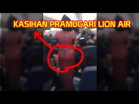 KASIHAN PRAMUGARI LION AIR DI GINIIN