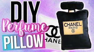 diy-chanel-perfume-pillow-no-sew-tumblr-room-decor