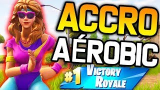 NEW SKIN - ACCRO TO AEROBICS ON FORTNITE BATTLE ROYALE!