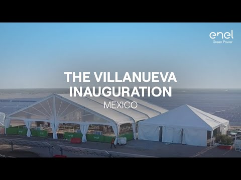Inauguration of Villanueva, the biggest solar plant of the Americas