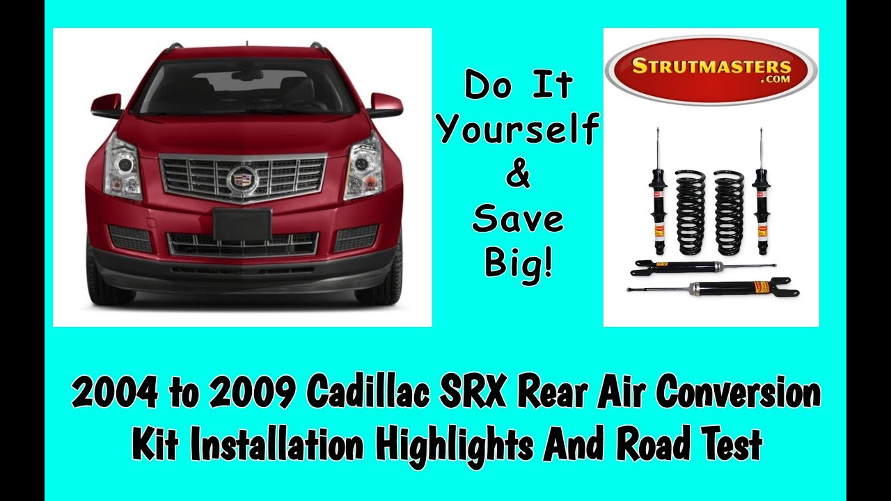 Rear Suspension Cadillac Srx Shock And Strut Replacement