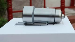 Best Fast car charger for your mobile Xiaomi MI Fast car charger unboxing with giveaway
