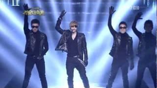 Uma das apresentações do 2011 KBS Music Festival, que é um 'especia...