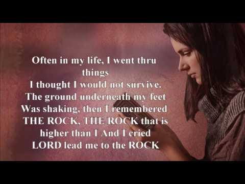 LEAD ME TO THE ROCK lyric video Jacob's Vision