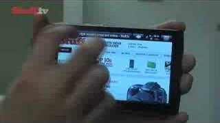 Archos 5 PMP video review from Stuff.tv - the gadget guide