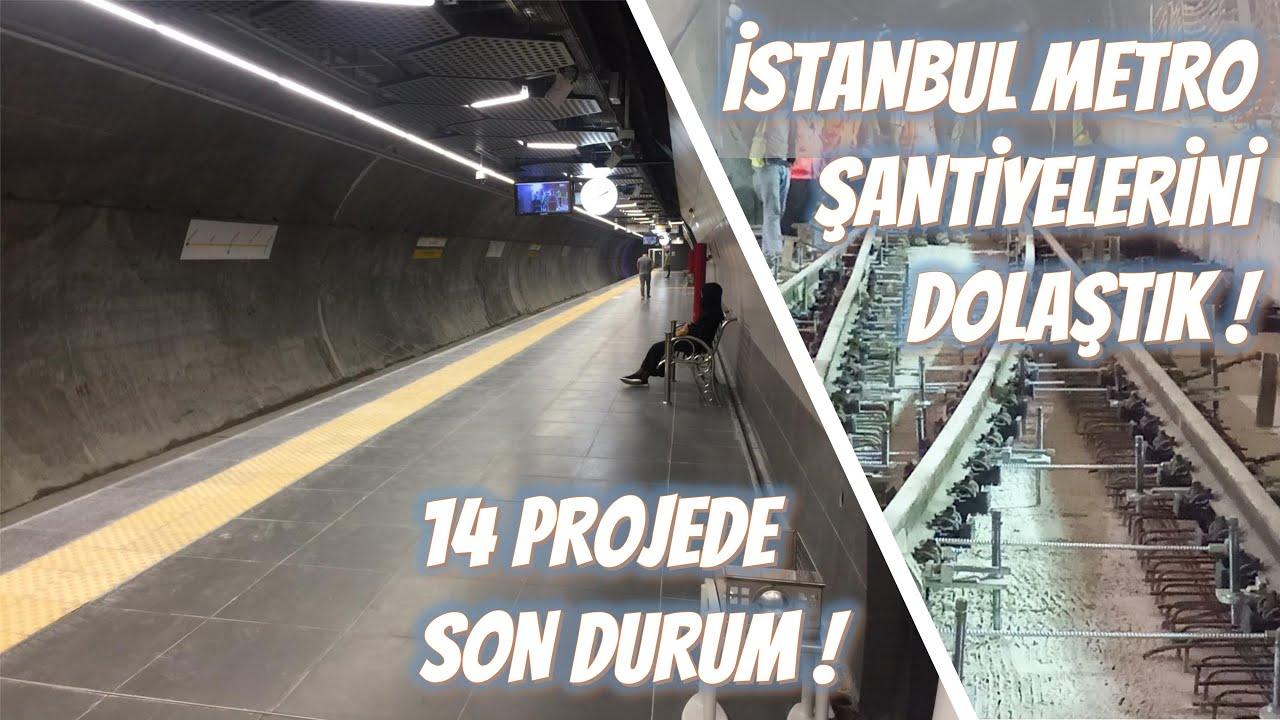 Bostancı-Dudullu Metrosu Test Sürüşleri Başlıyor