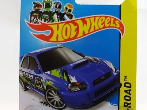 2014 Hotwheels Subaru Impreza Wrx Hw Off Road D Case Youtube
