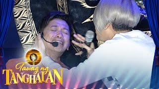 Drama sa Tanghalan: Jhong was hit by the Gong