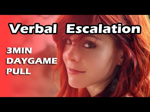 How to Verbal Escalation | Pull Girl Home In 3min DayGame | Full Infield Footage