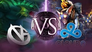Dota 2: Cloud 9 vs. Vici Gaming Game 2 - The International 2014 - TI4