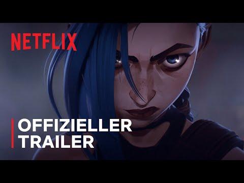 Arcane   Offizieller Trailer   Netflix