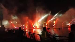 Dubai Shopping Festival 2017 Water Light & Fire show