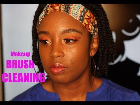 LexindyGurl - Makeup Brush Cleaning thumbnail