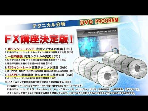 FXテクニカル分析セミナー講座 DVD10枚組